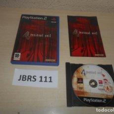 Jeux Vidéo et Consoles: PS2 - RESIDENT EVIL 4 , PAL ESPAÑOL , COMPLETO. Lote 240705605