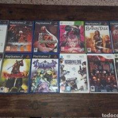 Jeux Vidéo et Consoles: GRAN LOTE DE JUEGOS DE PS2 WII XBOX 360 COMPLETOS PAL ESP *12 VIDEOJUEGOS*. Lote 240805715