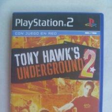 Videojuegos y Consolas: JUEGO DE PLAYSTATION 2 , DE SONY : TONY HAWK´S , UNDERGROUND 2. Lote 241183805