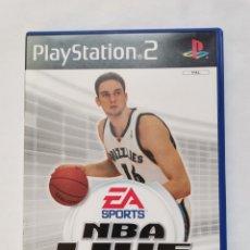 Jeux Vidéo et Consoles: NBA LIVE 2005 PS2 PAU GASOL. Lote 242127790