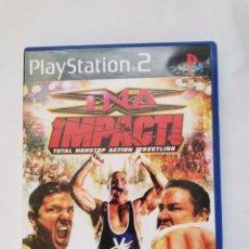 Jeux Vidéo et Consoles: TNA IMPACT! PS2 TOTAL NONSTOP ACTION WRESTLING. Lote 242129270