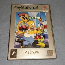 Jeux Vidéo et Consoles: PLAY STATION 2 THE SIMPSONS HIT & RUN PS2. Lote 242451805