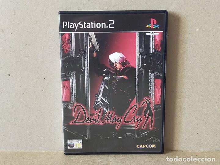 JUEGO SONY PLAYSTATION 2 - PAL / ESP - DEVIL MAY CRY - COMPLETO - PS2 (Juguetes - Videojuegos y Consolas - Sony - PS2)