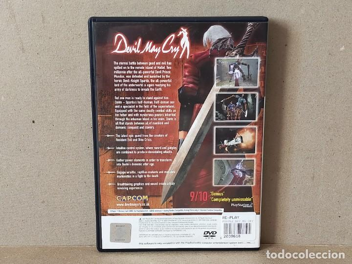 Videojuegos y Consolas: JUEGO SONY PLAYSTATION 2 - PAL / ESP - DEVIL MAY CRY - COMPLETO - PS2 - Foto 4 - 243624720