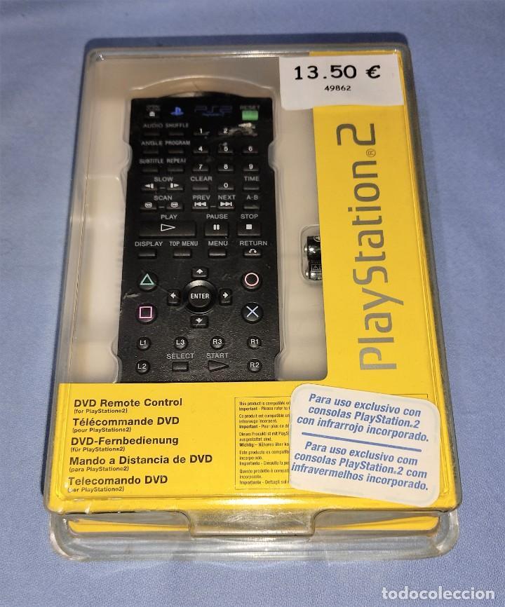 MANDO A DISTANCIA CONTROL REMOTO DVD DE SONY PARA PLAY STATION 2 PS2 EN SU BLISTER A ESTRENAR (Juguetes - Videojuegos y Consolas - Sony - PS2)