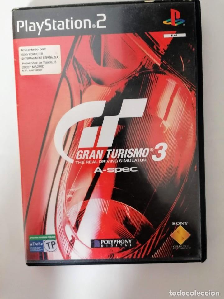 GRAN TURISMO3 A-SPEC (Juguetes - Videojuegos y Consolas - Sony - PS2)