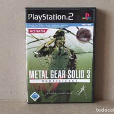Jeux Vidéo et Consoles: JUEGO SONY PLAYSTATION 2 - PAL. METAL GEAR SOLID 3 SUBSISTENCE - COMPLETO - PS2 - ALEMANIA (GERMANY). Lote 243885320