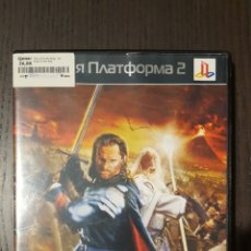 Videojuegos y Consolas: VIDEOJUEGO - PS2 - THE LORD OF THE RINGS - THE RETURN OF THE KING - EDICION RUSA -. Lote 243906125