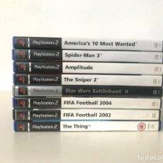Videojuegos y Consolas: LOTE DE 8 JUEGOS DE PS2. Lote 244549195