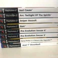Videojuegos y Consolas: LOTE DE 8 JUEGOS DE PS2. Lote 244549915