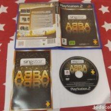 Videojuegos y Consolas: SINGSTAR ABBA PS2 PLAYSTATION 2 COMPLETO PAL-ESPAÑA. Lote 245651155