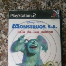 Videojuegos y Consolas: DISNEY PIXAR MONSTRUO SA ISLA DE LOS SUSTOS PLAY STATION2. Lote 246015030