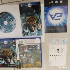 Videojuegos y Consolas: EL SEÑOR DE LOS ANILLOS LAS 2 TORRES PLAYSTATION 2 PS2 COMPLETO PAL-ESPAÑA. Lote 246024990