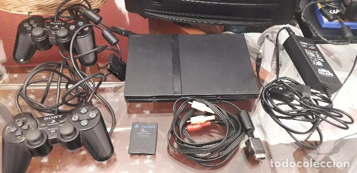08-00141-PS2 SLIM COMPLETA (Juguetes - Videojuegos y Consolas - Sony - PS2)