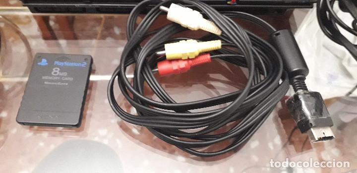 Videojuegos y Consolas: 08-00141-ps2 slim COMPLETA - Foto 8 - 246175420