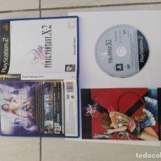 Videojuegos y Consolas: FINAL FANTASY X-2 PS2 PLAYSTATION 2 COMPLETO PAL-ESPAÑA. Lote 246224905