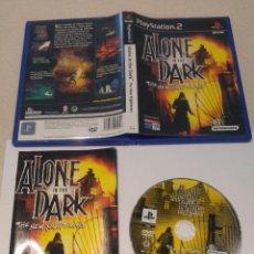 Videojuegos y Consolas: ALONE IN THE DARK PS2 PLAYSTATION 2 COMPLETO PAL-ESPAÑA. Lote 246225240
