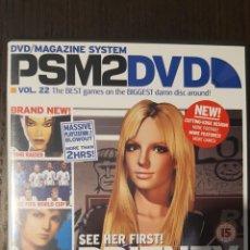 Videojuegos y Consolas: DVD - LOTE 3 DVD'S - PSM2DVD - Nº 22, 23 Y 32 (TOMB RAIDER, METAL GEAR, KINGDOM HEARTS...). Lote 246464190