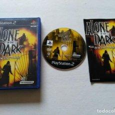 Videojuegos y Consolas: ALONE IN THE DARK THE NEW NIGHTMARE COMPLETO EDICION ESPAÑOLA PLASYSTATION 2 PS2. Lote 246507910