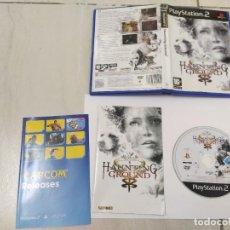 Videojuegos y Consolas: HAUNTING GROUND PS2 PLAYSTATION 2 COMPLETO PAL-ESPAÑA. Lote 246517250