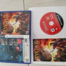 Videojuegos y Consolas: RYGAR PS2 PLAYSTATION 2 COMPLETO PAL-ESPAÑA. Lote 246548615
