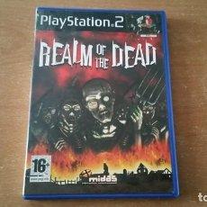 Videojuegos y Consolas: REALM OF THE DEAD PS2 PAL ESPAÑA COMPLETO. Lote 246568795