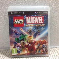 Videojuegos y Consolas: JUEGO PARA CONSOLA SONY PS3. LEGO MARVEL. Lote 249229770
