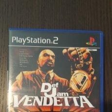 Videojuegos y Consolas: VIDEOJUEGO / JUEGO PS2 - DEF JAM VENDETTA - PLAYSTATION 2 - EA SPORTS - PAL - SLES 51479. Lote 249302090