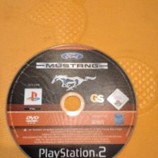 Videojuegos y Consolas: C-SKYROJO DVD PLAY STATION 2 MUSTANG THE LEGEND LIVES FORD. Lote 252123410