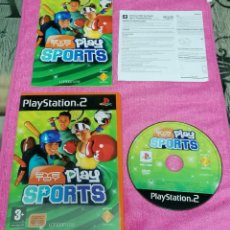 Videojuegos y Consolas: EYETOY PLAY SPORTS: JUEGO Y MANUAL DE INSTRUCCIONES PARA PLAYSTATION 2 · PAL · PESO: 120 GRAMOS. Lote 253290960