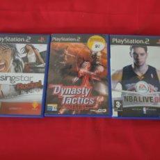 Videojuegos y Consolas: ANTIGUOS JUEGOS PLAYSTATION 2. Lote 253550490