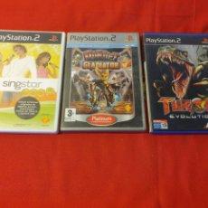 Videojuegos y Consolas: ANTIGUOS JUEGOS PLAYSTATION 2. Lote 253552380