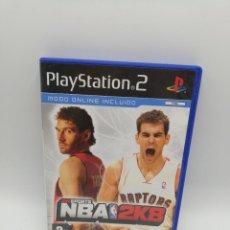 Videojuegos y Consolas: CARATULA CON MANUAL. NBA 2K8. PLAYSTATION 2. SIN JUEGO. VER FOTOS.. Lote 253639885