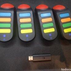 Videojuegos y Consolas: MANDOS INALÁMBRICOS JUEGO BUZZ, PS2. Lote 253980920