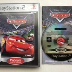 Videojuegos y Consolas: DISNEY PIXAR CARS CARROS COCHES PLATINUM PS2 PLAYSTATION 2 PLAY STATION TWO KREATEN. Lote 254083620
