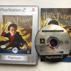 Videojuegos y Consolas: HARRY POTTER Y LA CAMARA SECRETA PLATINUM PS2 PLAYSTATION 2 PLAY STATION TWO KREATEN. Lote 254083825
