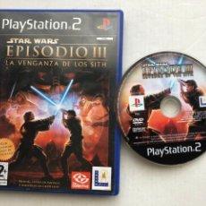 Videojuegos y Consolas: STAR WARS EPISODIO III LA VENGANZA DE LOS SITH STARWARS 3 PS2 PLAYSTATION 2 PLAY STATION TWO KREATEN. Lote 254086960