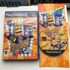 Videojuegos y Consolas: BUZZ POP MUSIC 40 PRINCIPALES PS2 PLAYSTATION 2 PLAY STATION TWO KREATEN. Lote 254090895