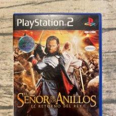 Videojuegos y Consolas: ESDLA : EL RETORNO DEL REY PS2 PAL ESP. Lote 254180465