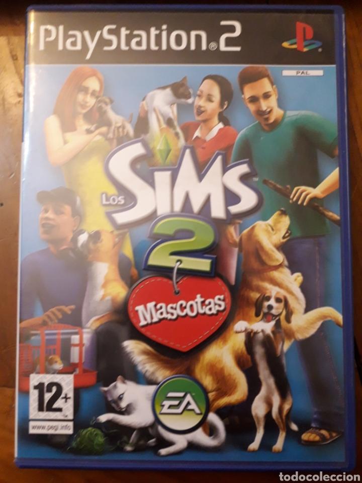 LOS SIMS 2 MASCOTAS COMPLETO PLAYSTATION 2PS2 JUEGO VIDEOCONSOLA (Juguetes - Videojuegos y Consolas - Sony - PS2)