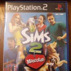 Videojuegos y Consolas: LOS SIMS 2 MASCOTAS COMPLETO PLAYSTATION 2PS2 JUEGO VIDEOCONSOLA. Lote 254262520