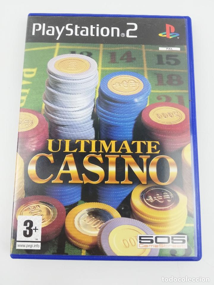 Videojuegos y Consolas: ULTIMATE CASINO PS2 - Foto 1 - 254264575