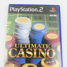 Videojuegos y Consolas: ULTIMATE CASINO PS2. Lote 254264575