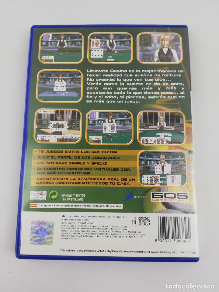 Videojuegos y Consolas: ULTIMATE CASINO PS2 - Foto 2 - 254264575