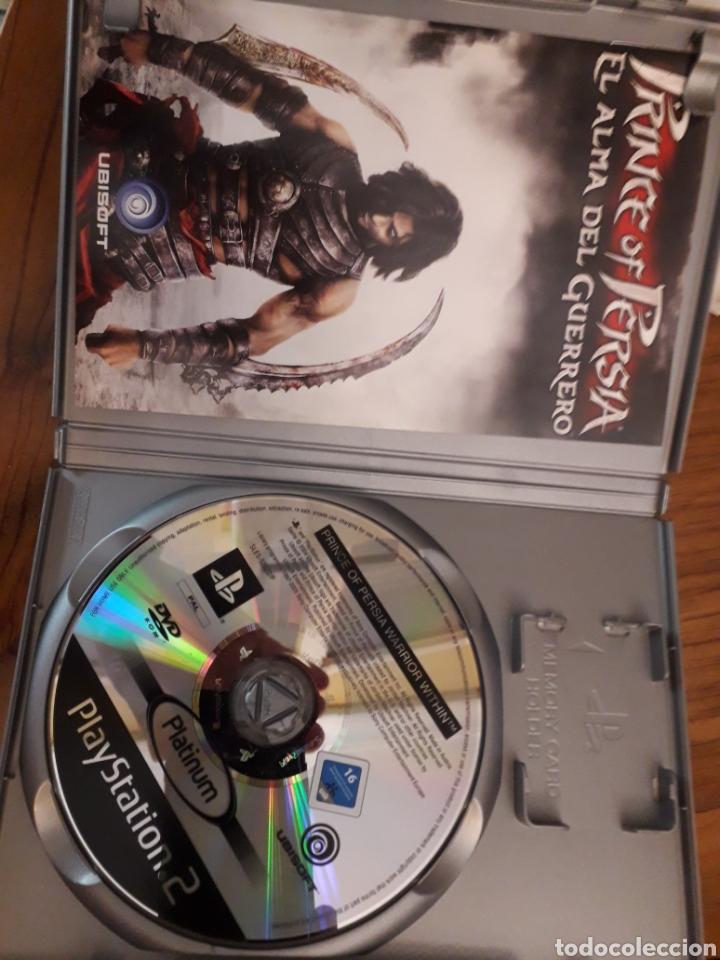 Videojuegos y Consolas: Prince of Persia 2 El Alma del guerrero Completo PlayStation 2Ps2 Juego videoconsola - Foto 2 - 254262940