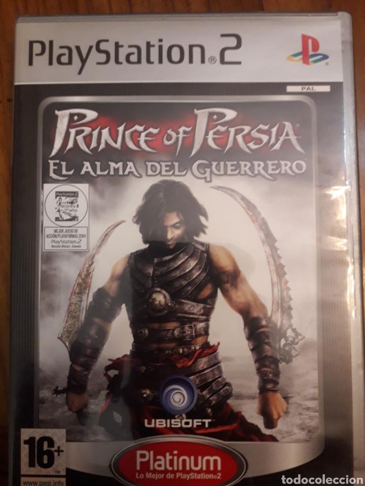 PRINCE OF PERSIA 2 EL ALMA DEL GUERRERO COMPLETO PLAYSTATION 2PS2 JUEGO VIDEOCONSOLA (Juguetes - Videojuegos y Consolas - Sony - PS2)