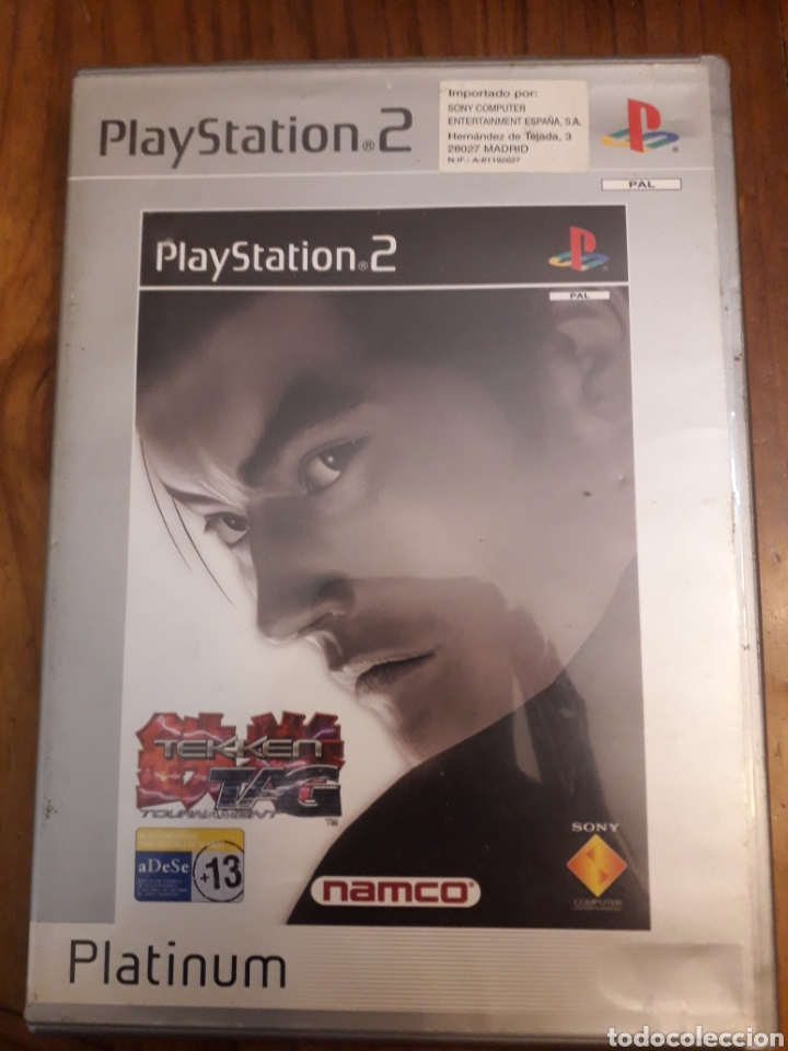 TEKKEN TAG PLAYSTATION 2PS2 JUEGO VIDEOCONSOLA (Juguetes - Videojuegos y Consolas - Sony - PS2)