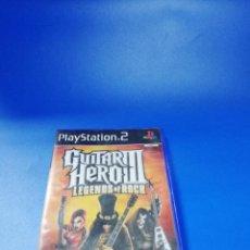 Videojuegos y Consolas: GUITAR HERO III. PLAYSTATION 2. MANUAL Y JUEGO. VER FOTOS.. Lote 254343100