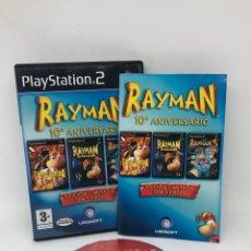Videojuegos y Consolas: JUGO PLAYSTATION 2 PS2 RAYMAN 10 ANIVERSARIO CON INSTRUCCIONES. Lote 254698610
