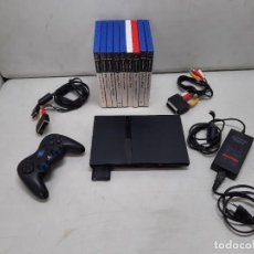 Videojuegos y Consolas: CONSOLA SONY PLASYSTATION 2 CON 9 JUEGOS. Lote 254927875